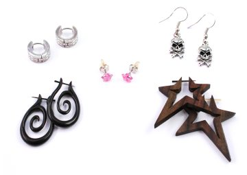 Online shop for earrings