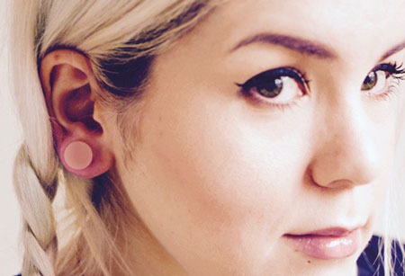 pink tunnel plugs