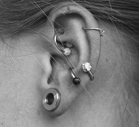 Ear Piercing Rings, Ear Cuffs, Studs & Fake Piercings