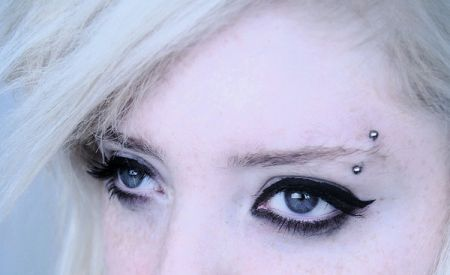 Eyebrow Body Jewelry - wear it in your Eye Brow