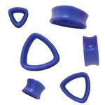 Shape Plug - Triangle - Blue