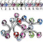 Bananabell Piercing - Crystal - Small