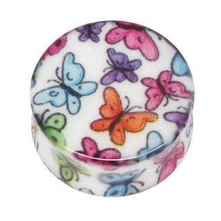 Neo Pop Ear Plug - Butterflies