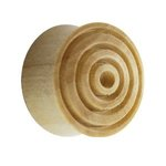 Wood Ear Plug - Crocodile Wood - Rings - 10 mm