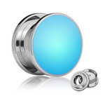 LED Ear Plug - Blue - 18 mm