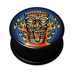 FTS - Picture Ear Plug - Voodoo Tiki