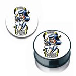 Pin Up Ear Plug - Rebel