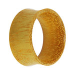 Wood Flesh Tunnel - Jackfruit Wood - 14 mm