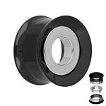 Flesh Tunnel - Steel - Ring - Silver - 8 mm