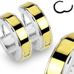 Hoop Earrings - Silver - Gold