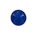 Piercing Ball - Acrylic - Glitter - Blue - with Screw