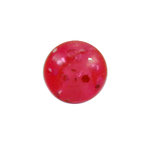 Piercing Ball - Acrylic - Glitter - Pink - with Screw