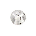 Piercing Ball - Acrylic - Glitter - Clear - with Screw
