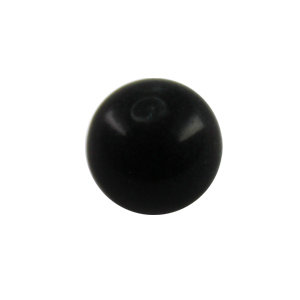 Piercing Ball - Acrylic - Black - with Screw