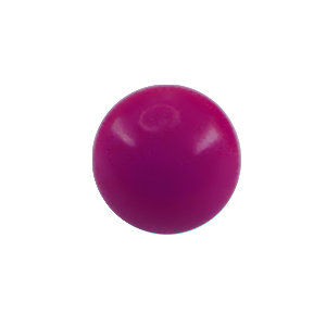 Piercing Ball - Acrylic - Purple - with Screw