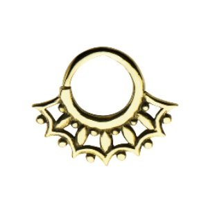 Septum Piercing - Brass - Gold - Ornament #2