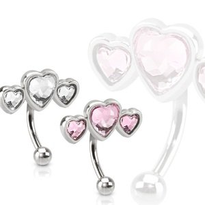 Bananabell Piercing - Small - 3 Hearts