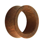 Wood Flesh Tunnel - Brown - Tineo Wood - 8 mm