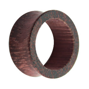 Wood Flesh Tunnel - Brown - Purple - Amaranth Wood