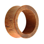 Wood Flesh Tunnel - Brown - Granadillo - 8 mm