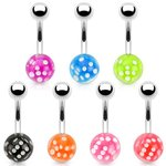 Bananabell Piercing - Ball - Dice - 7 Colors