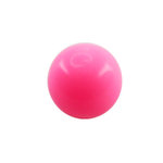 Piercing Ball - Acrylic - Pink - with Screw - [05.] - 1.6...