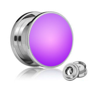 LED Ear Plug - Purple