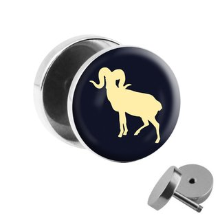 Picture Fake Plug - Zodiac Sign - Aries