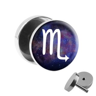 Picture Fake Plug - Animal Zodiac Sign - Scorpio