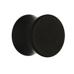 Classic Ear Plug - Steel - Black - Matte - 10 mm