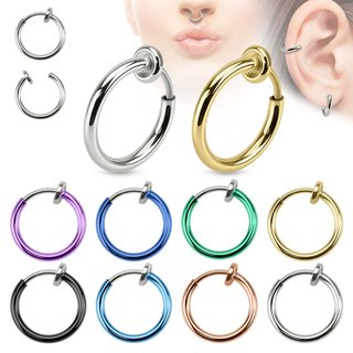 Fake Piercing - Ring - Colorful