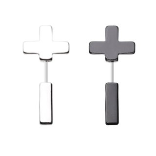 Fake Plug - Steel - Cross