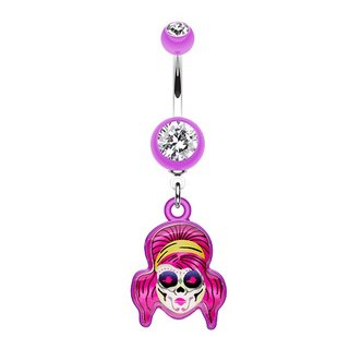 Bananabell Piercing - La Catrina - Purple