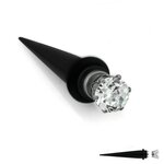 Magnet Fake Expander - Black - Crystal