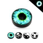 Magnet Fake Plug - Glow in the dark - Picture [1.] - Eye