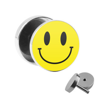 Picture Fake Plug - Smiley