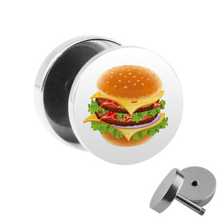 Picture Fake Plug - Burger