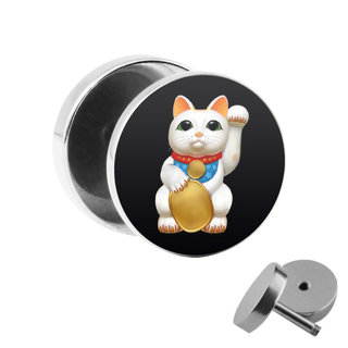 Picture Fake Plug - Lucky Cat
