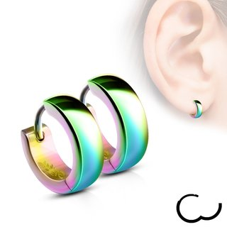 Hoop Earrings - Colorful