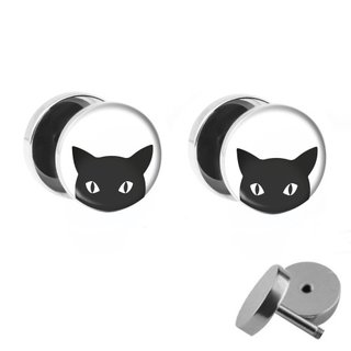 Picture Fake Plug Set - Cat