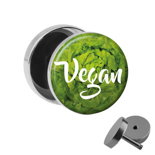 Picture Fake Plug - Vegan - Salad