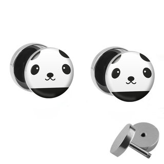 Picture Fake Plug Set - Panda