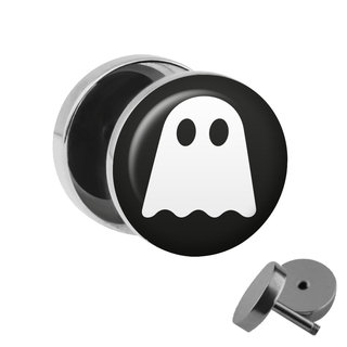Picture Fake Plug - Ghost - White