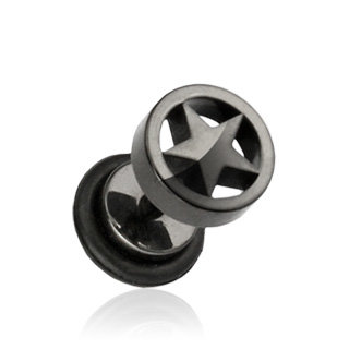 form fake plugs crazy shaped cheater earrings shop page 2. Black Bedroom Furniture Sets. Home Design Ideas