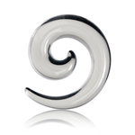 Spiral Taper - Acrylic - Transparent