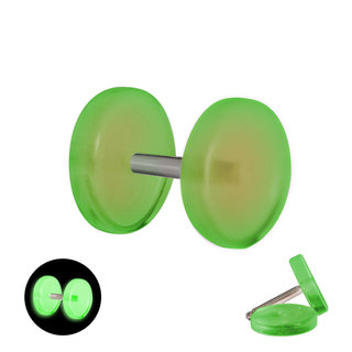Glow in the dark - Fake Plug - Green