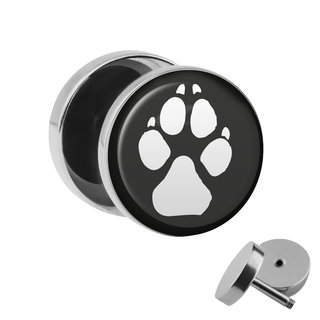 Picture Fake Plug - Paw