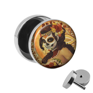 Picture Fake Plug - La Catrina - Orange