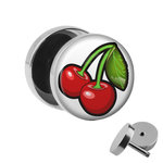 Picture Fake Plug - Cherries