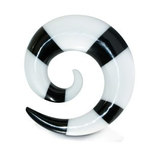 Spiral Taper - Horn - Stripes